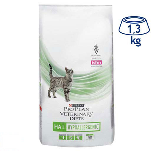 Ração Seca para Gato HA Hidrolized Purina Pro Plan Veterinary Diets (emb. 1,3 kg)