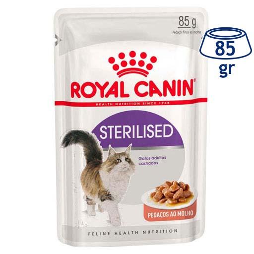 Comida Húmida para Gato Loaf Esterilisado Royal Canin (emb. 85 gr)