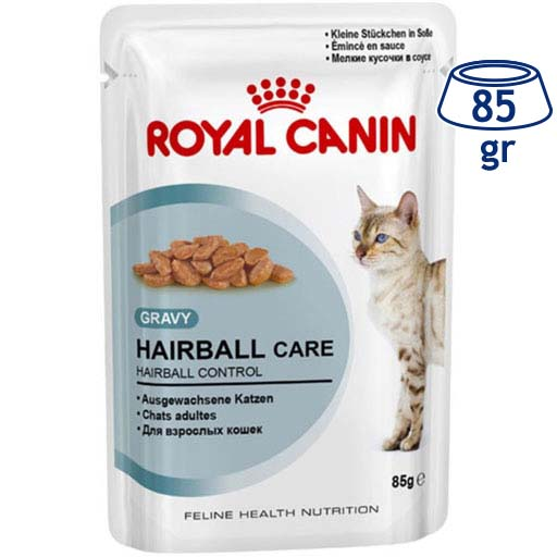 Comida Húmida para Gato Anti-Hairball Molho Royal Canin (emb. 85 gr)