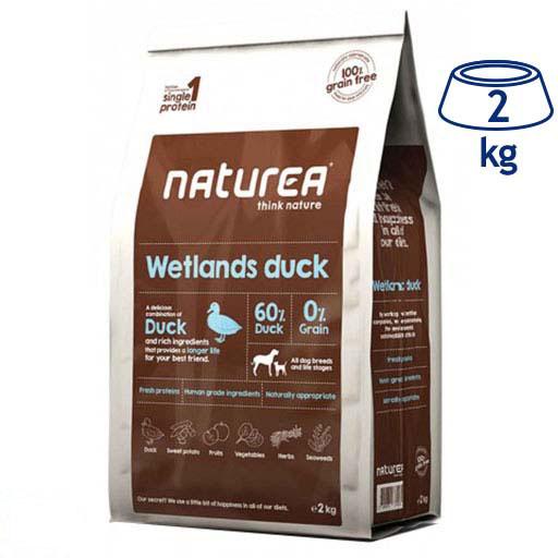 Ração para Cão Pato Naturea (emb. 2 kg)