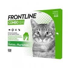 Frontline Combo para Gato (3 pipetas)