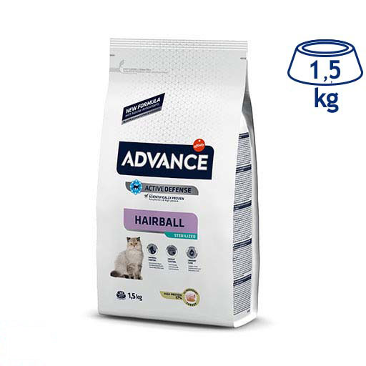 Ração para Gato Hairball Affinity Advance (emb. 1,5 kg)