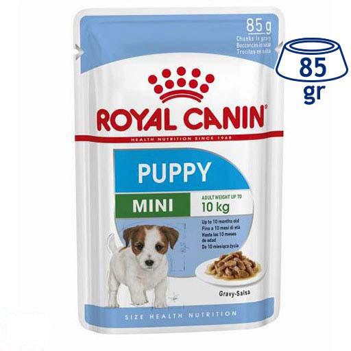 Comida Húmida para Cão Mini Puppy Royal Canin (emb. 85 gr)