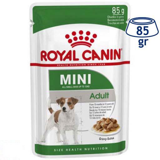 Comida Húmida para Cão Adulto Mini Royal Canin (emb. 85 gr)