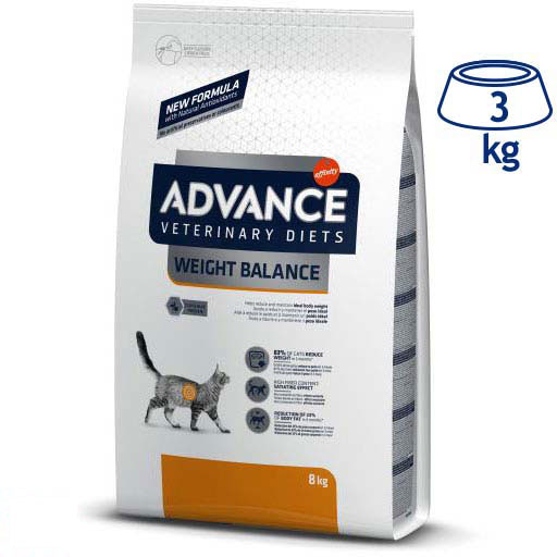 Ração Seca para Gato Weight Balance Affinity Advance Veterinary Diets (emb. 1,5 kg)