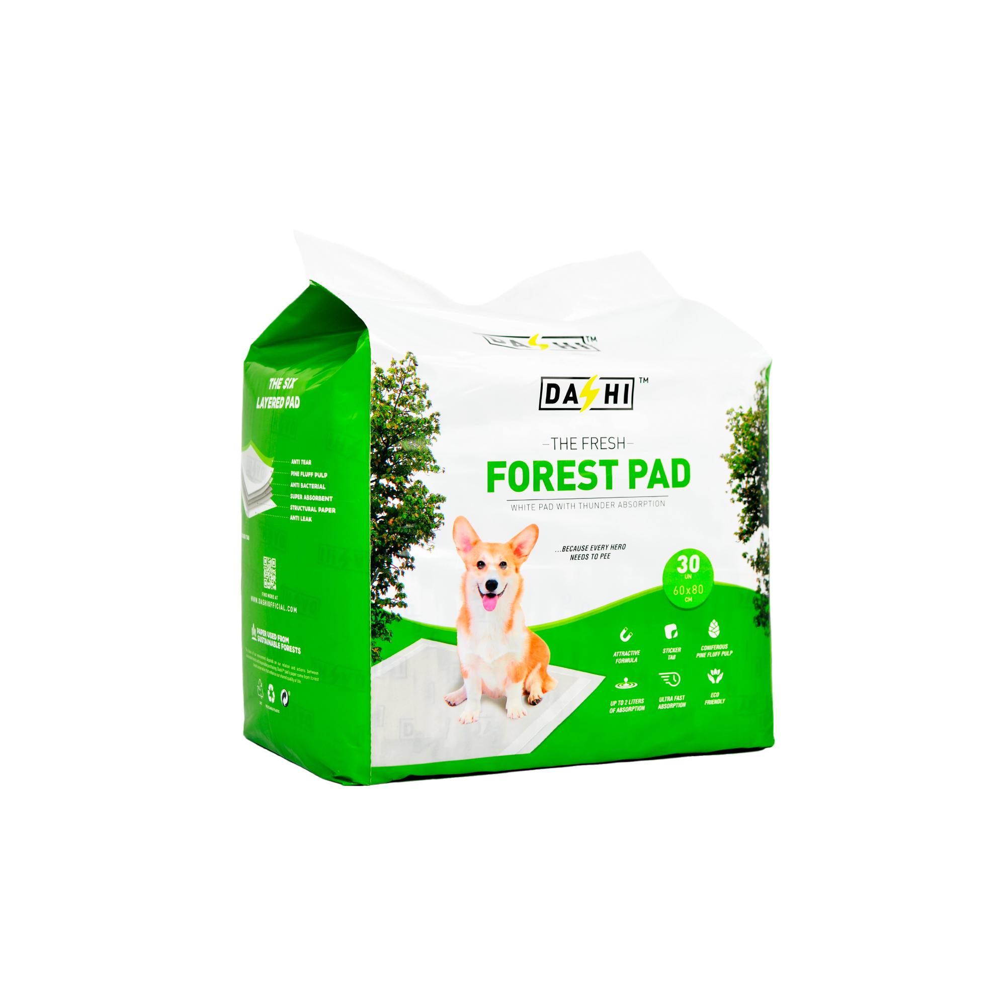 Resguardo Absorvente Dashi Forest Pad 60x80 cm (30 unidades)