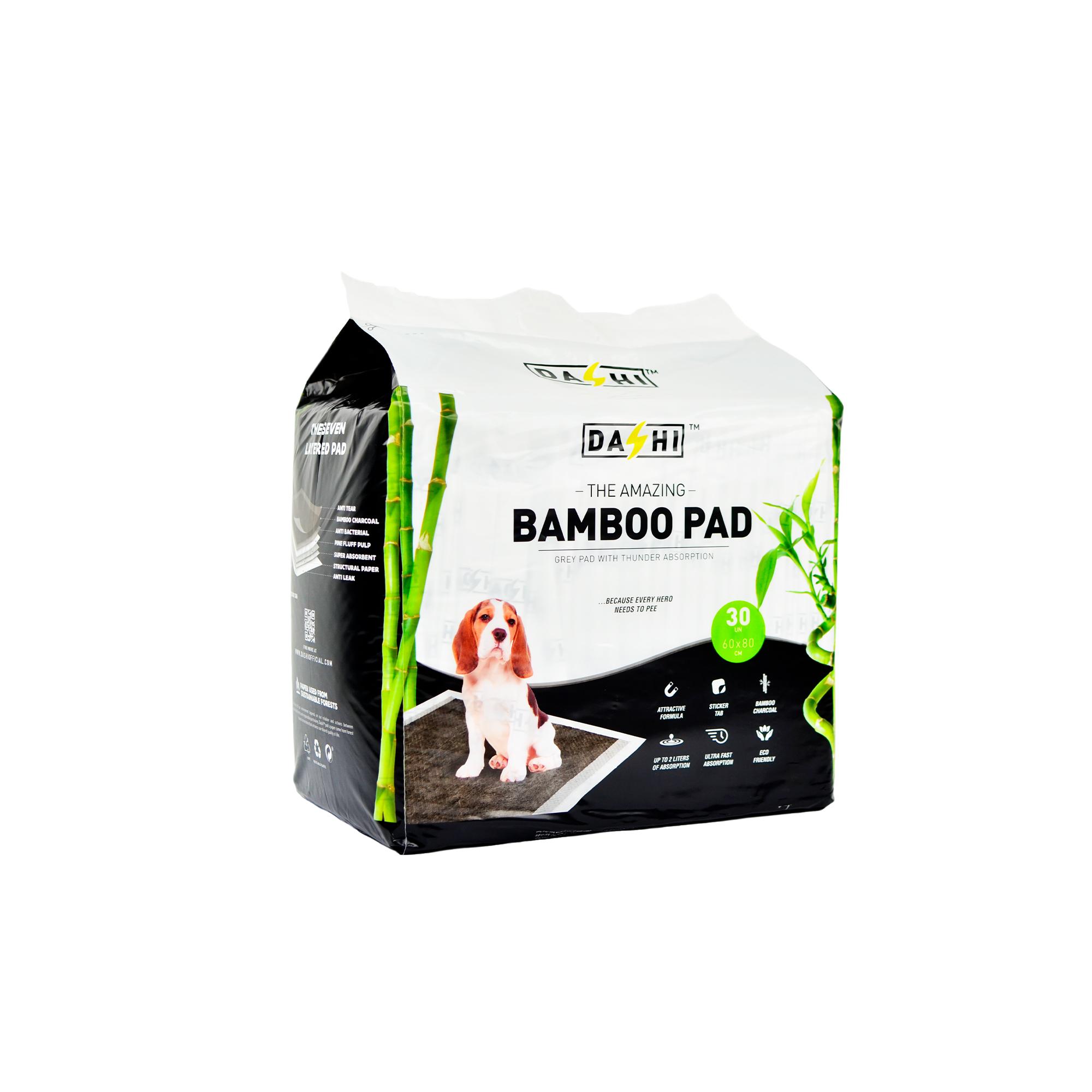 Resguardo Absorvente Dashi Bamboo Pad 60x80CM (30 unidades)