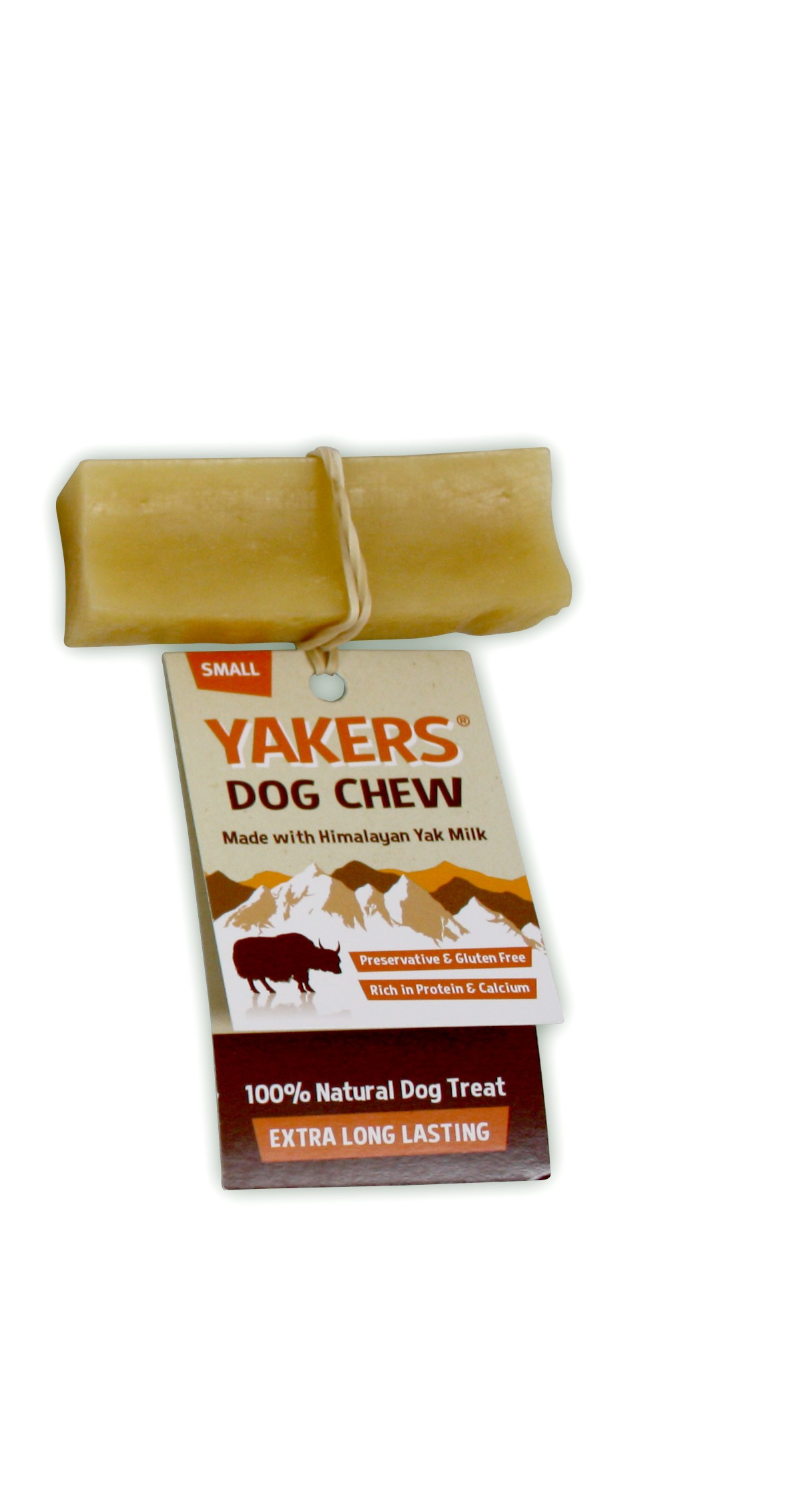 Snack Natural de Leite Himalaias para Cão Yakers S (35 gr)